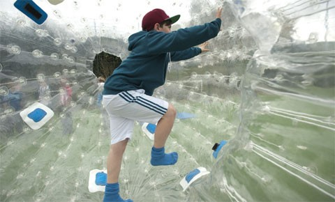 Zorb the boredom away thanks to BIG