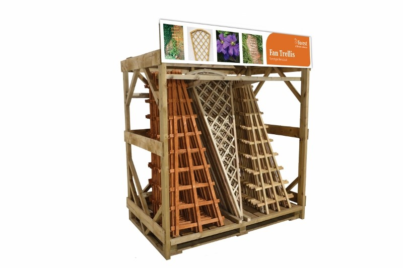 Sales of fan trellis set to increase with launch of new merchandising stand