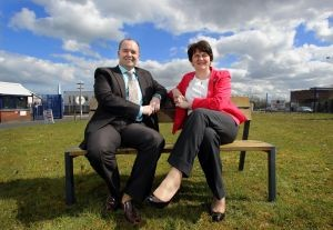 Minister officially opens Newtownabbey street furniture business