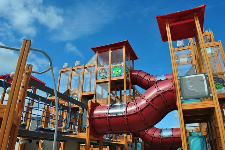 Angry Birds Activity Park opens