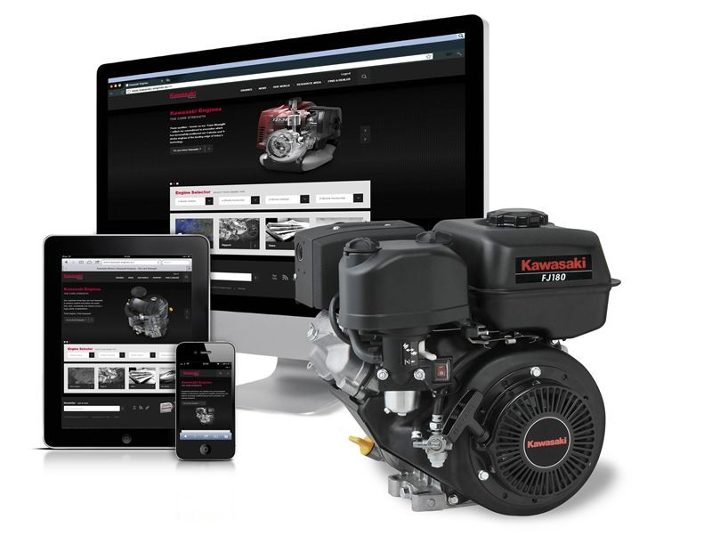 Kawasaki's engine resource at your fingertips