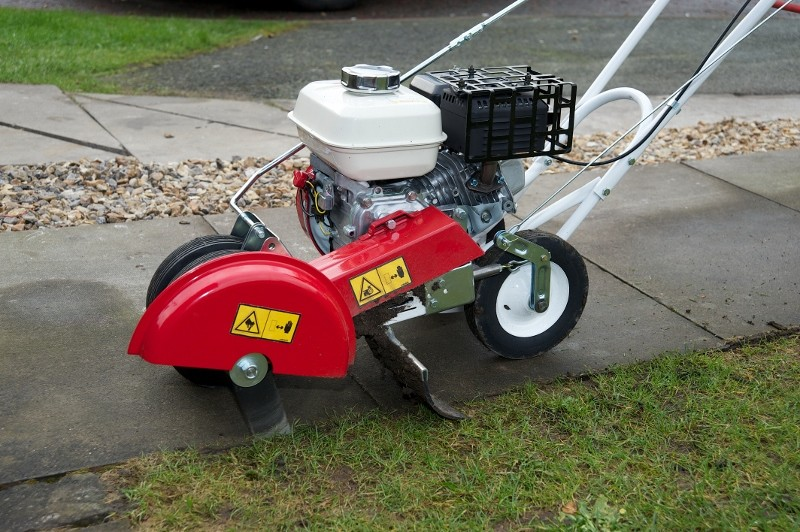 Get behind the new walk-behind Pro Edger