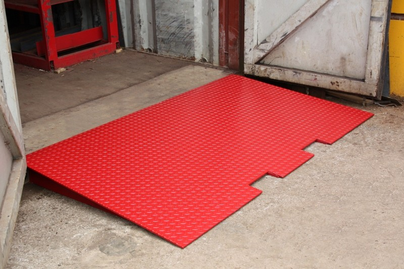 New ramps allow effective access to containers at ground level