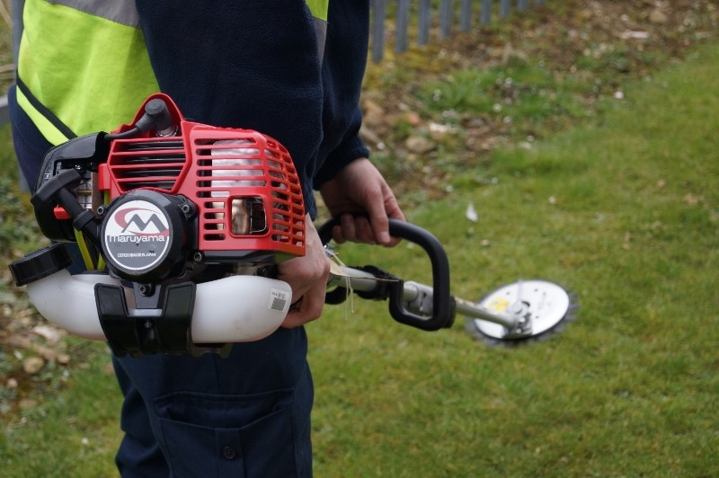 Mitie purchases Maruyama strimmers