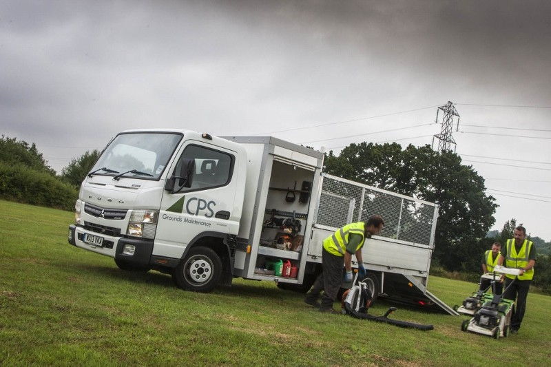 Rugged and reliable Fuso Canter goes to ground for CPS