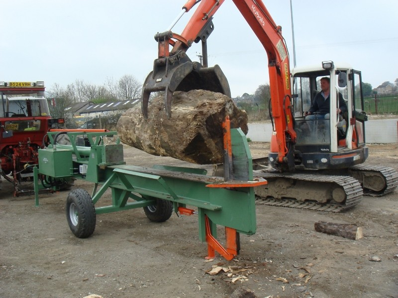 New Ryetec splitter increases value of cheap firewood