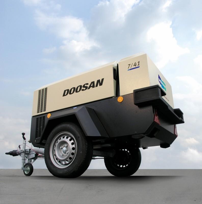 Doosan Portable Power and Montabert at BAUMA Africa