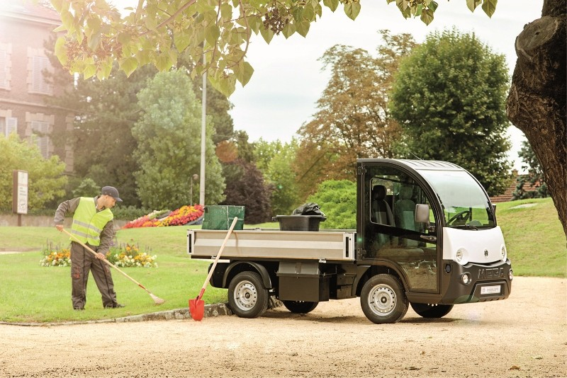 MEGA compact utility vehicles for SALTEX