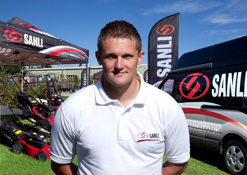 Ex Belfry golf pro joins the sales team at SANLI (UK) Ltd