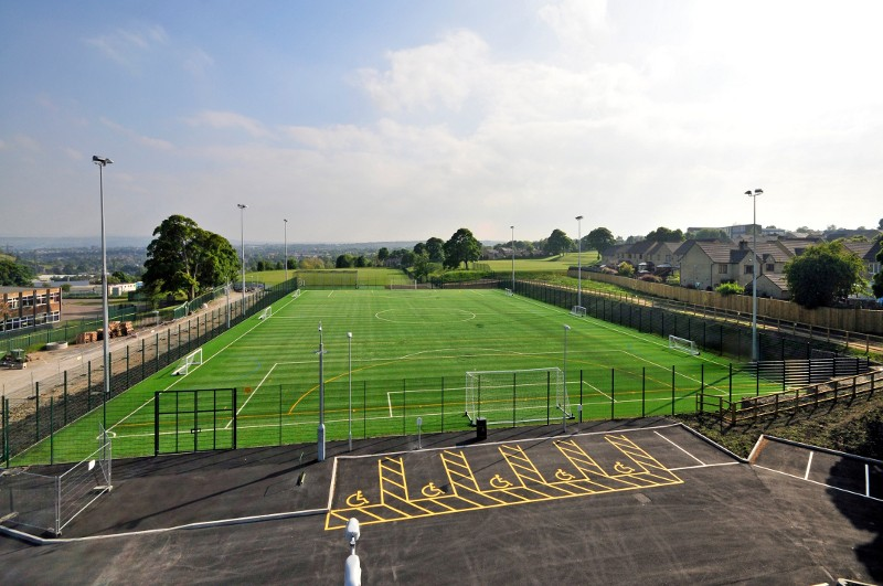 Trinity Academy's New Artificial Sports Pitch Sets the Standard