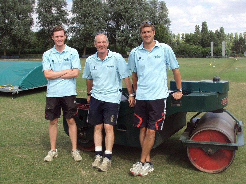 Playing cricket gives sportsground contractor the edge