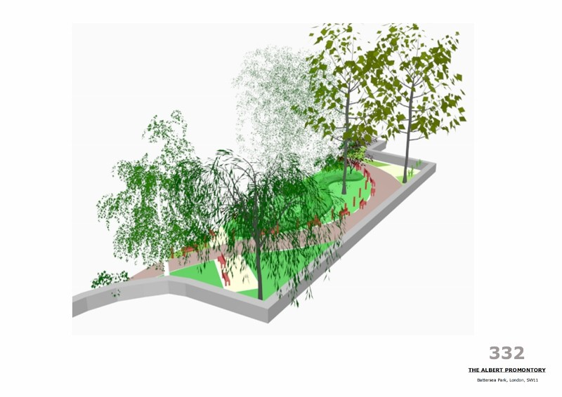 David Keary wins the Battersea Park Promontory Design Competition