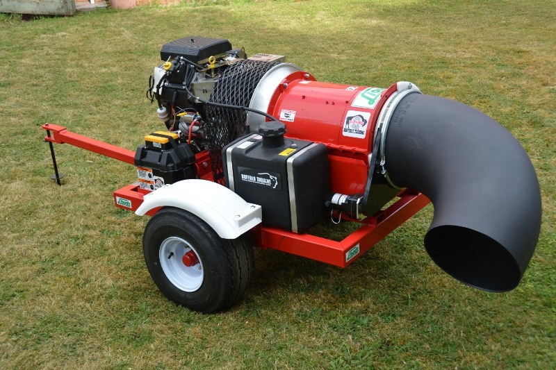 Buffalo Blowers from Lloyds offer the best solution