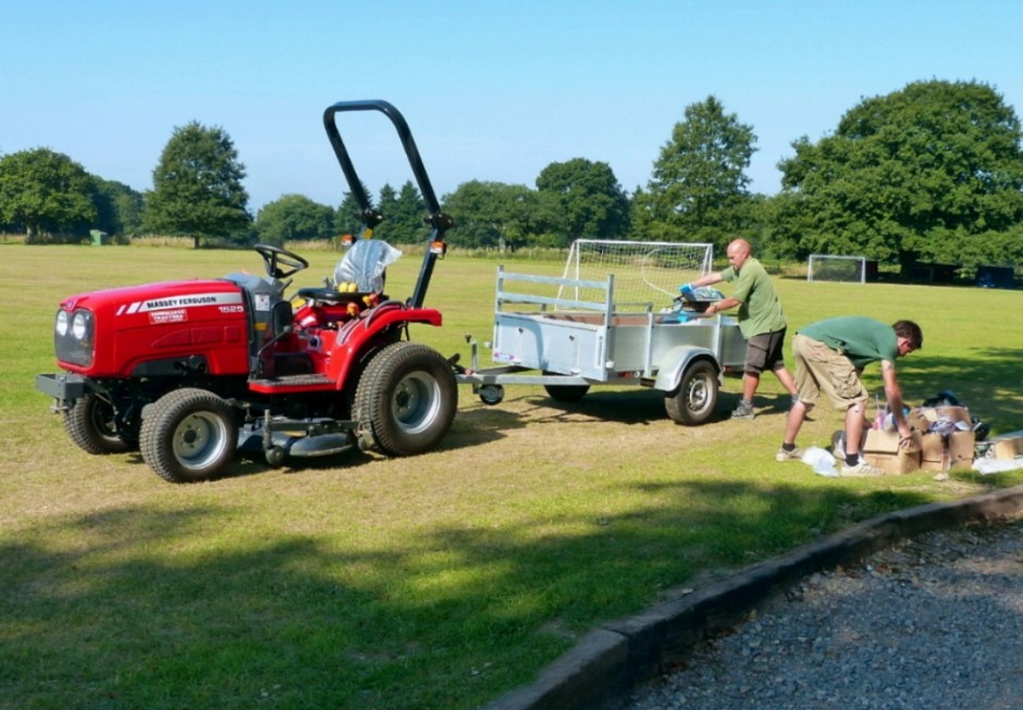 Massey Ferguson compact tractors add up for Hampshire schools