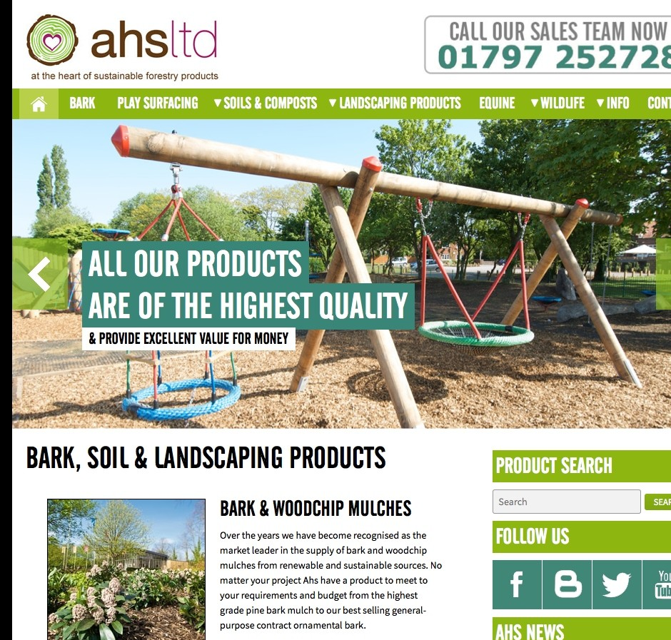 Brand new landscaping supplies website now launched