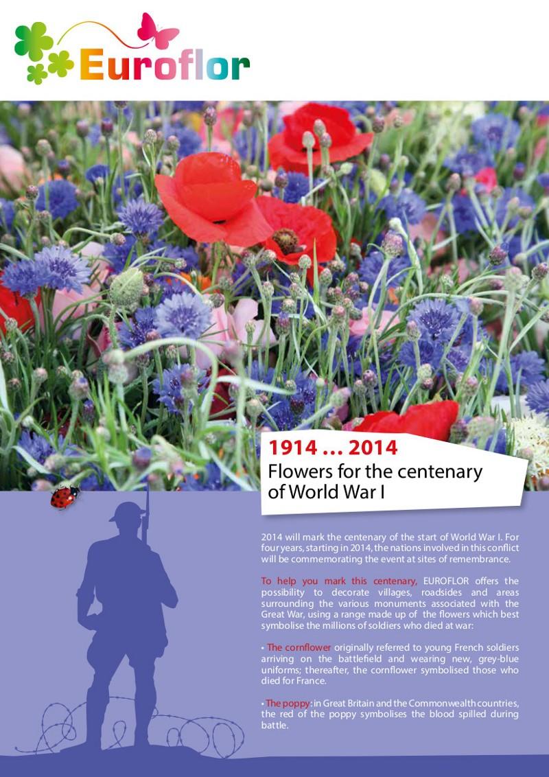 Euroflor launches First World War flower mixes