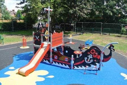 Parish council's play area gets makeover