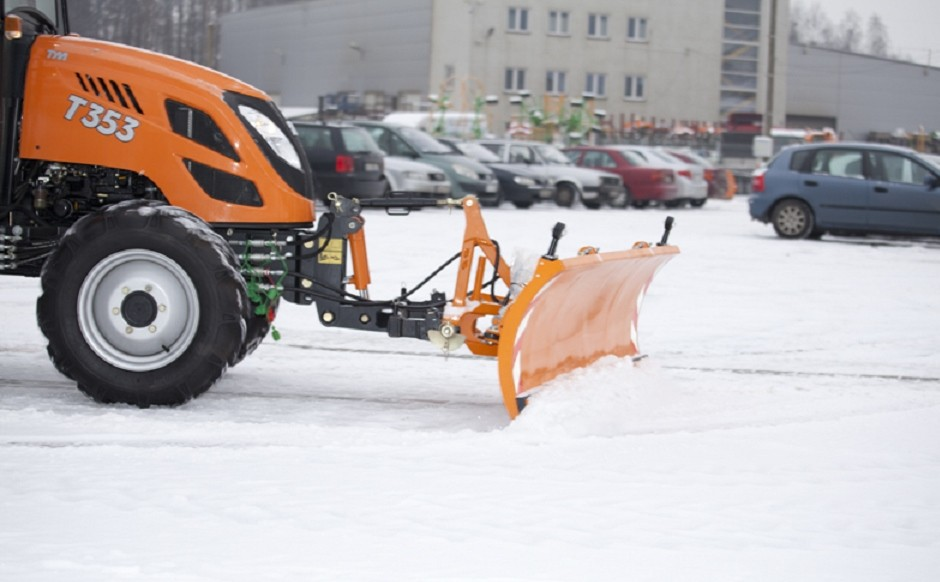 New compact tractor mounted snowplough range
