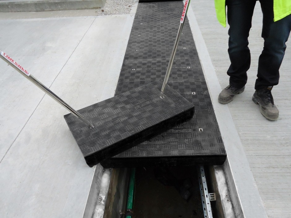 Lightweight composite access covers changing specifications worldwide