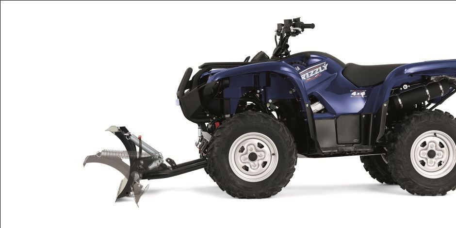 WARN's ATV plow systems clearing the deepest snow