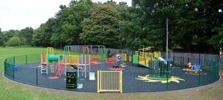 Open space rejuvenated by Play and Leisure