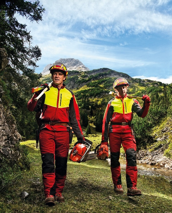 Sorbus arborist workwear designed to cope with all weather