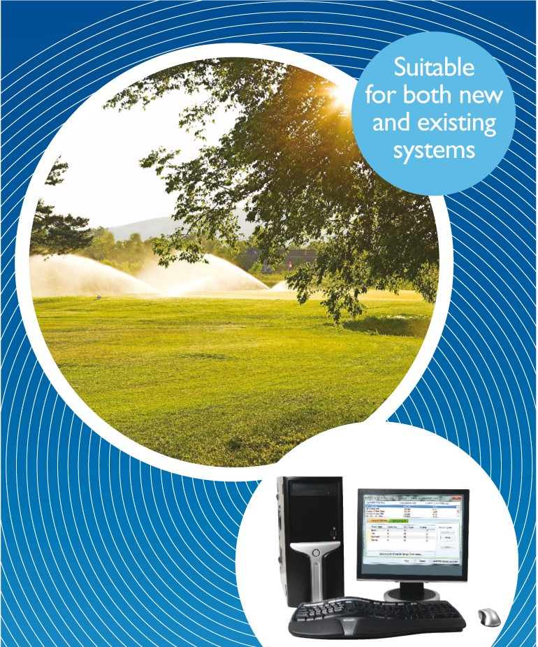 Bailoy precision golf irrigation systems at BTME