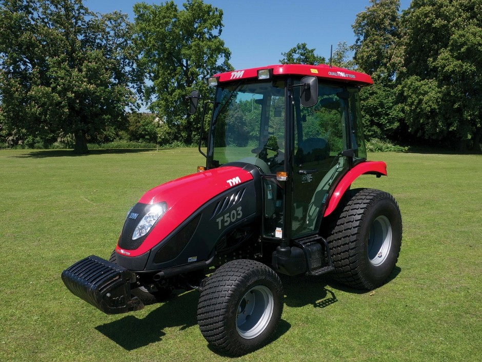 TYM Tractors debut at BTME