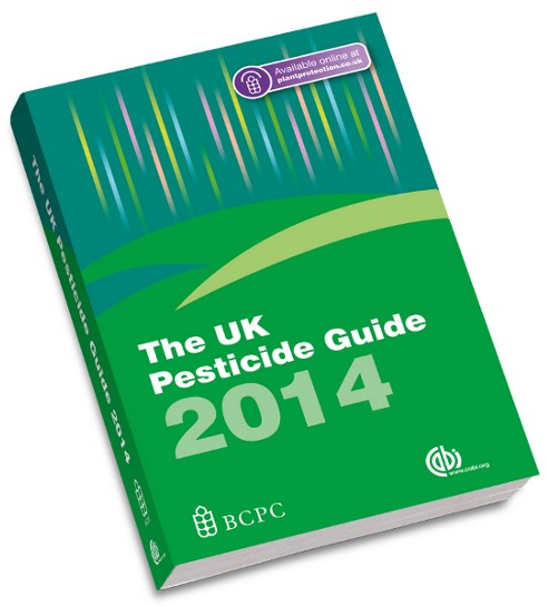 The UK Pesticide Guide 2014 – the perfect pesticide planning tool