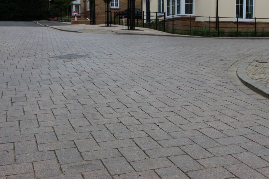 Formpave's skid resistant paving meets council specifications