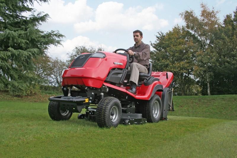 The Countax C60 Garden Tractor