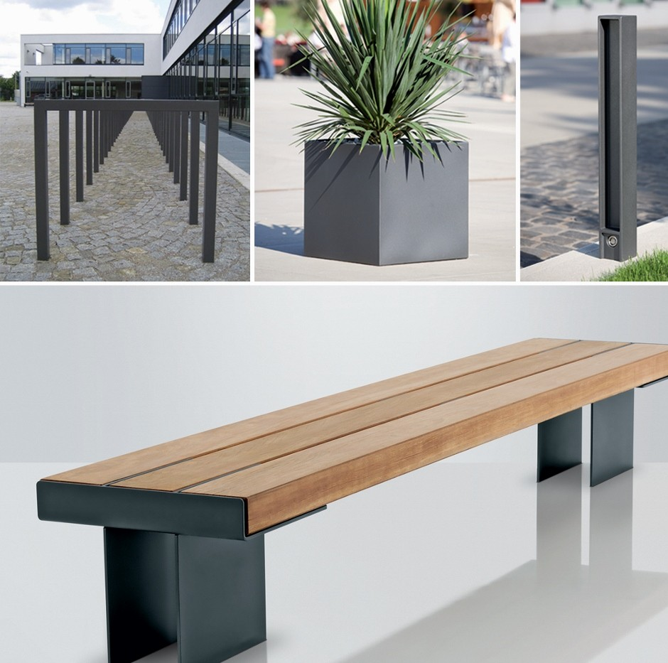 Contemporary Kaje Bench from DW Windsor
