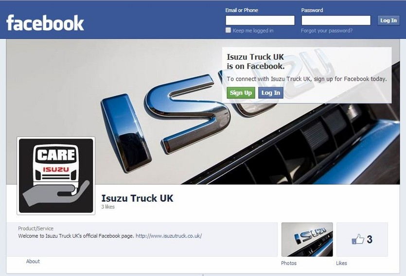 Isuzu Truck UK launches social media initiative
