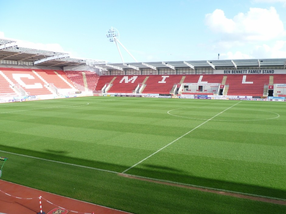 Rotherham on the way up with a pitch to match