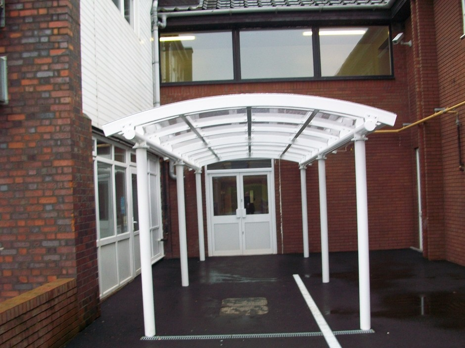 Bespoke canopy is top of the class for school