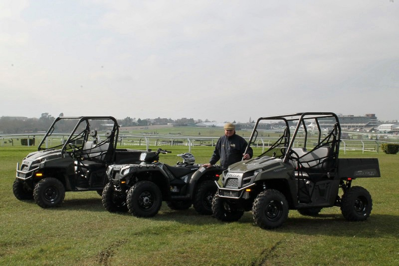 A day at the races for Polaris