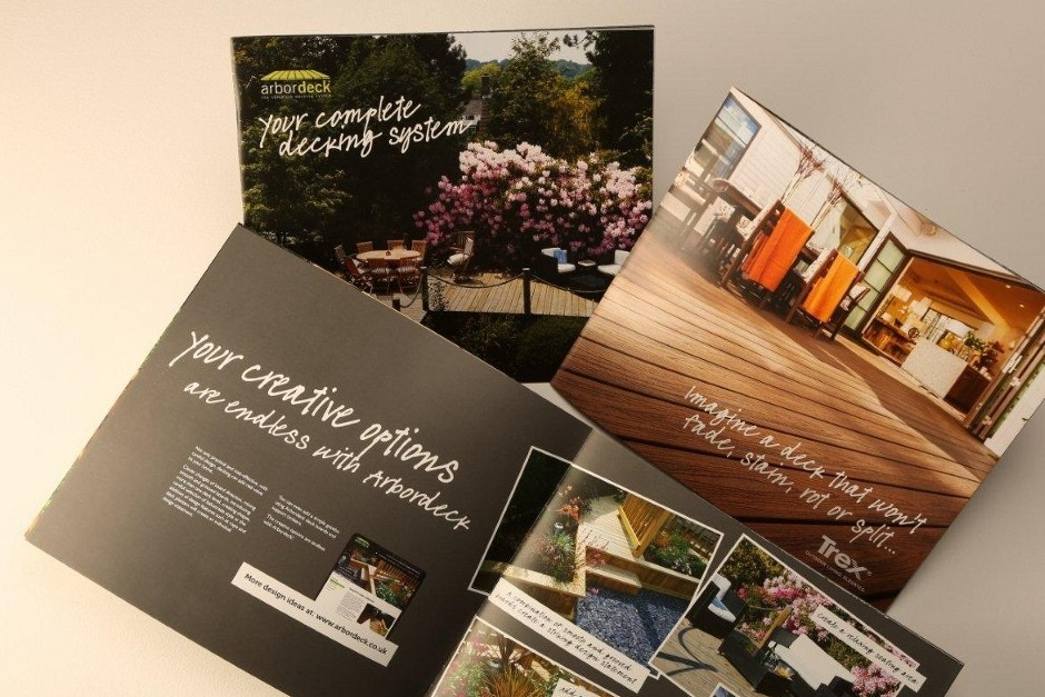 Clear the decks for Arbordeck's new brochure