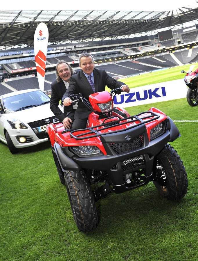 Suzuki GB drives ahead and signs title sponsorship deal with MK Dons