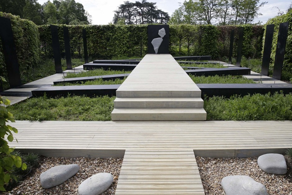 Accoya brings balance to Europe's leading garden show