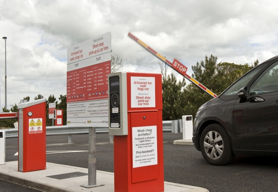 DESIGNA makes Cardiff Airport parking effortless