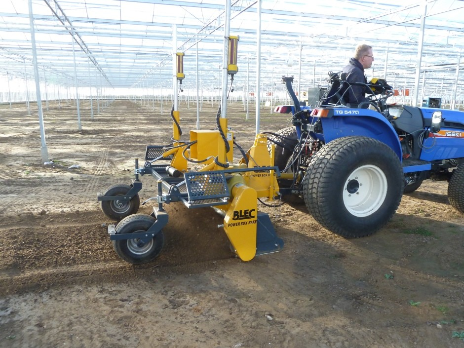 BLEC machinery for growers on show at Four Oaks