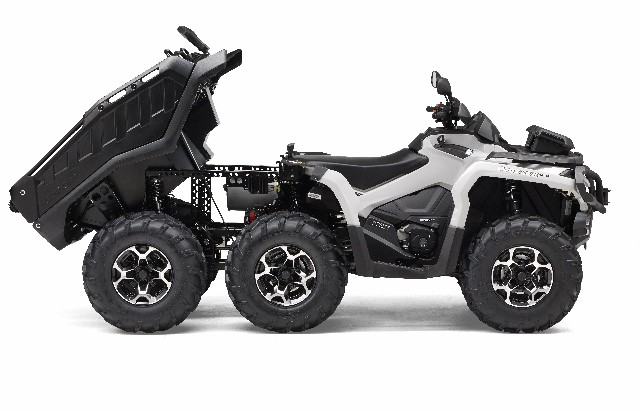 BRP's new Can-Am Outlander 1000 6x6 blazes a trail in the ATV market