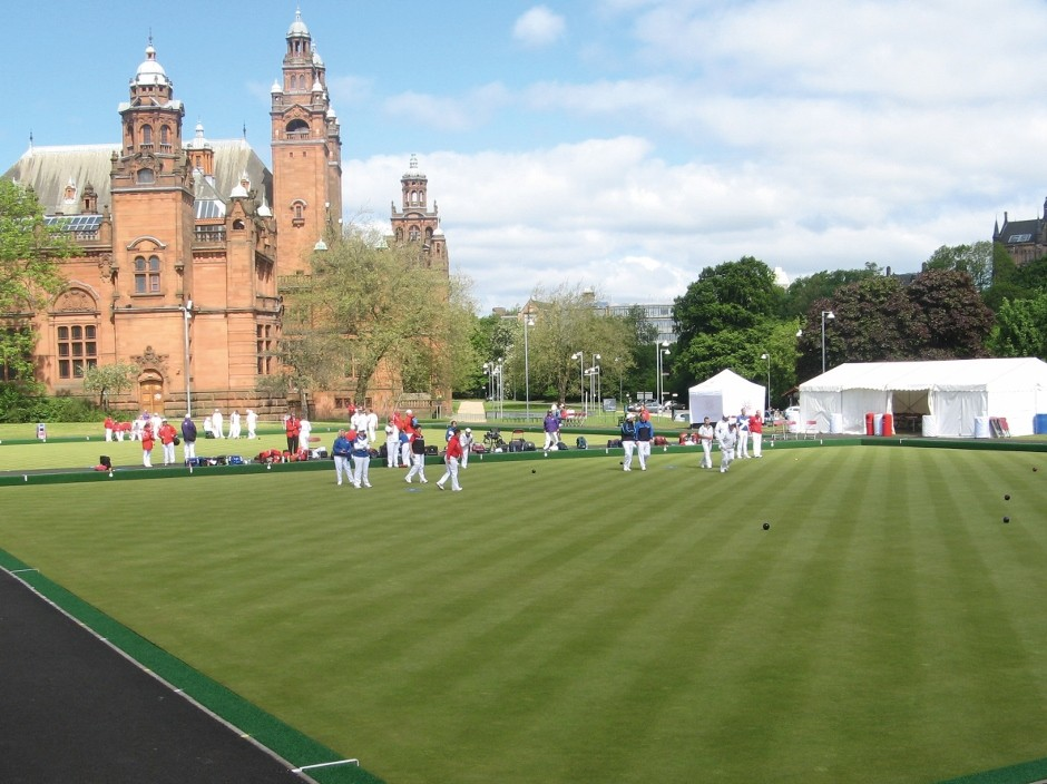 Lindum Greens are perfect for Gold at the Commonwealth Games