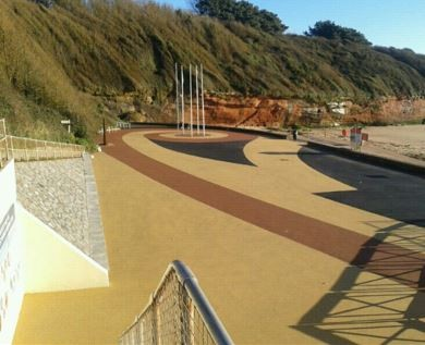 RonaDeck Resin Bound Surfacing enhances Exmouth seafront