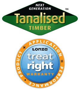 Treat-Right Warranty for Tanalised fencing timbers