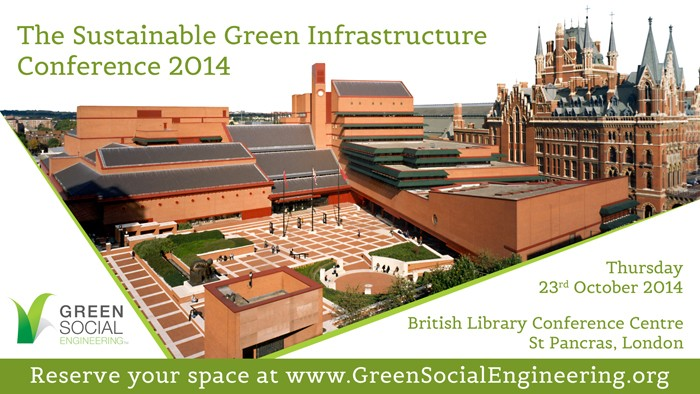 UK GREEN INFRASTRUCTURE CONFERENCE PLACES STILL AVAILABLE