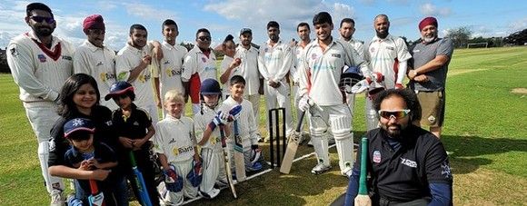 Boughton support local cricket team triumph