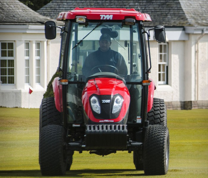 FIRST TYM TRACTOR FOR GLENEAGLES