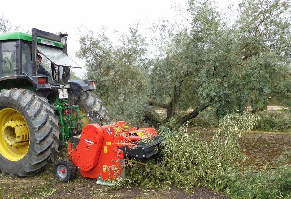 New shredder makes light work of tree prunings