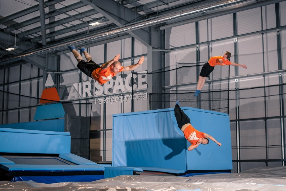 Scotland's first trampoline park bounces into action